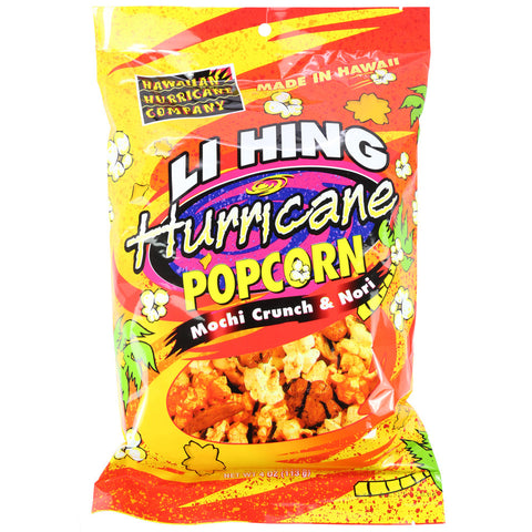 Li Hing Hurricane Popcorn 4 oz Bag