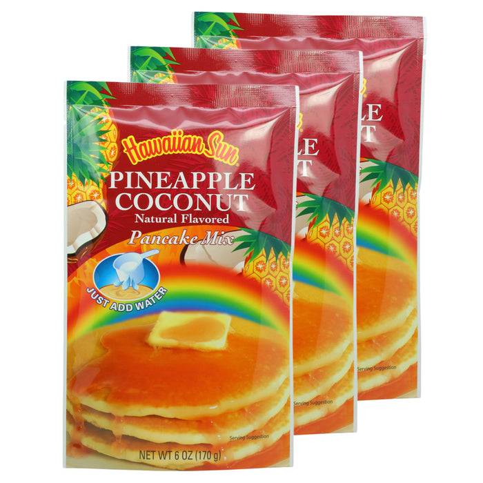 Hawaiian Sun Pineapple Coconut Pancake Mix