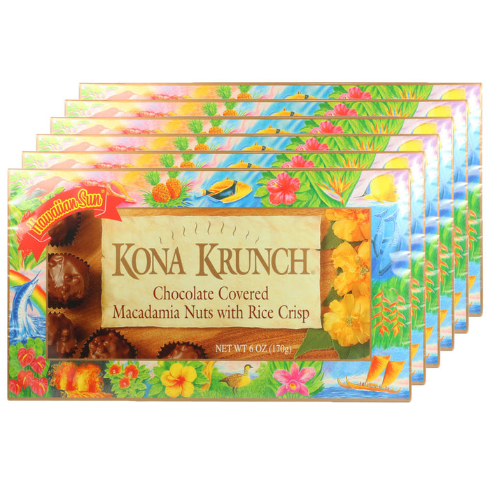 Hawaiian Sun Kona Krunch 6 Pack