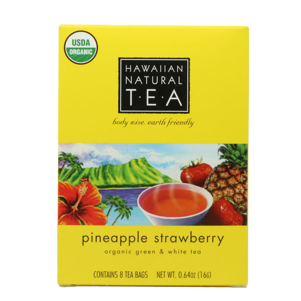 Hawaiian Natural Pineapple Strawberry Tea - 8 or 20 count