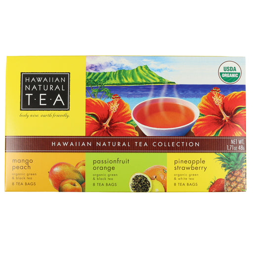 Hawaiian Natural Organic Tea 3-Pack Gift Set