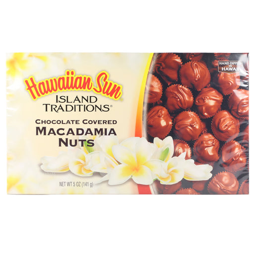 Hawaiian Sun Chocolate Covered Macadamia Nuts - 5 oz