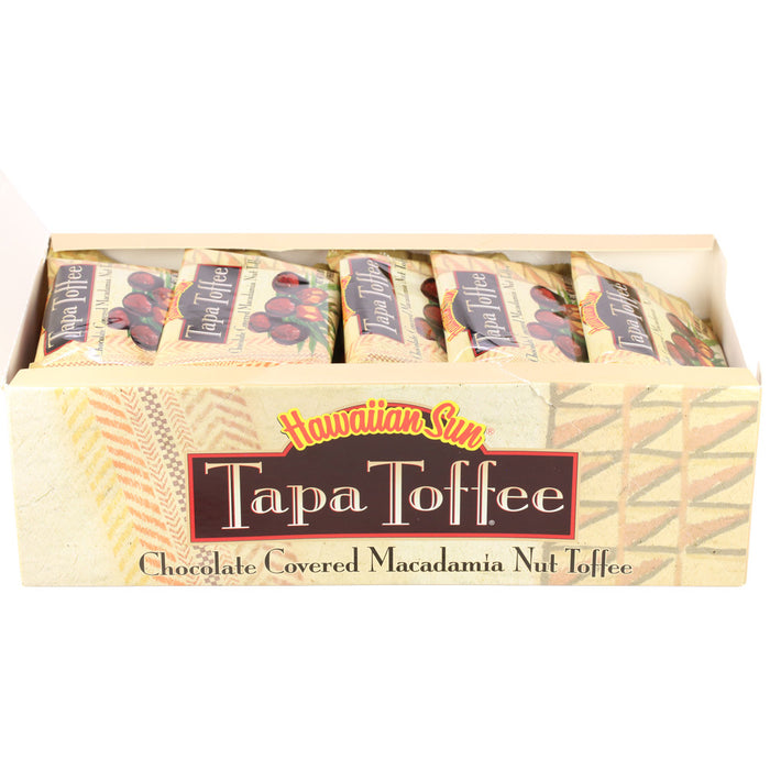 Hawaiian Sun Chocolate Macadamia Nut Tapa Toffee - Box Set