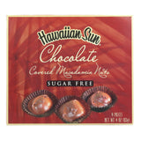 Hawaiian Sun SUGAR-FREE Chocolate Macadamia Nuts - 4 oz or Box Set