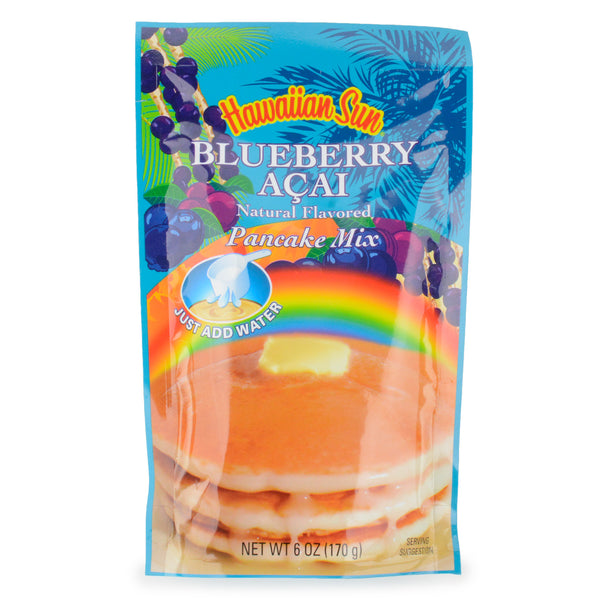 Hawaiian Sun Blueberry Acai Pancake Mix - 6 oz