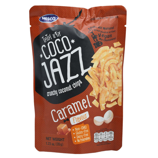 Coco Jazz Caramel Flavored Coconut Chips