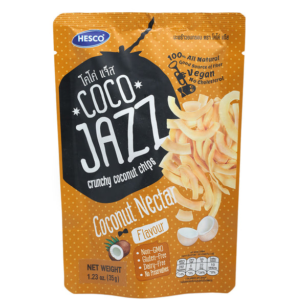 Coco Jazz Coconut Nectar Coconut Chips