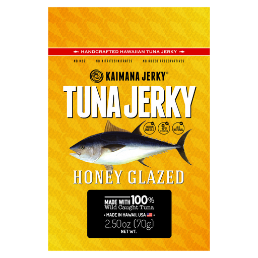 Honey Glazed Ahi Tuna Jerky