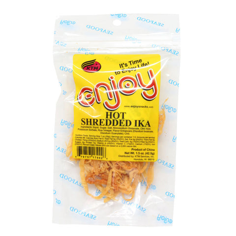 Enjoy Hot Shredded Ika - 1.5 oz or 5 oz