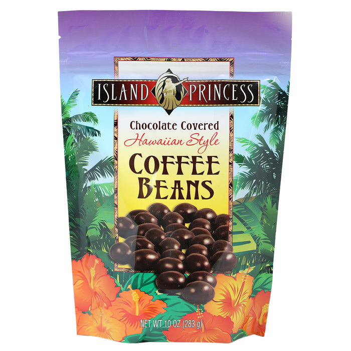 Island Princess Hawaiian Style Chocolate Covered Coffee Beans
