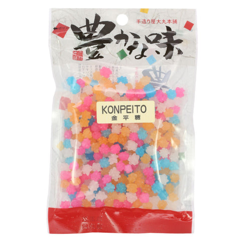 Japanese Konpeito Hard Candy - 3.5 oz