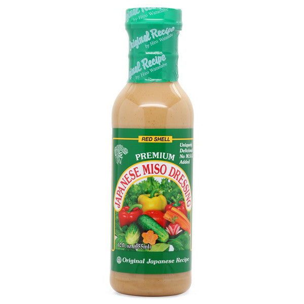Red-shell-Japanese-miso-dressing-12-oz-front