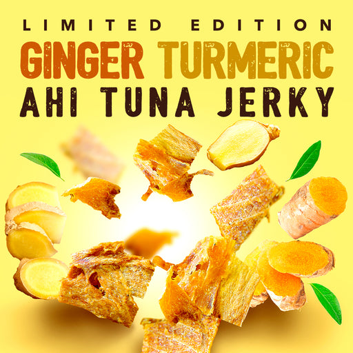 Kaimana Limited Edition Ginger Turmeric Ahi Tuna Jerky 7 oz