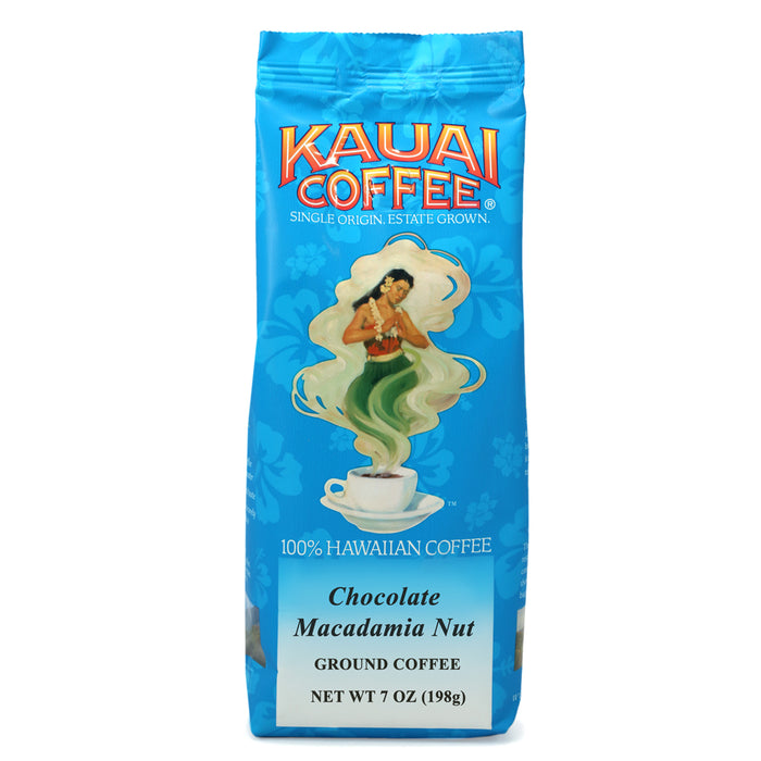 Kauai Coffee Chocolate Macadamia Nut Ground - 7 oz