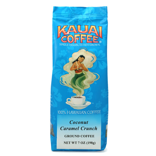 Kauai Coffee Coconut Caramel Crunch Ground - 7 oz