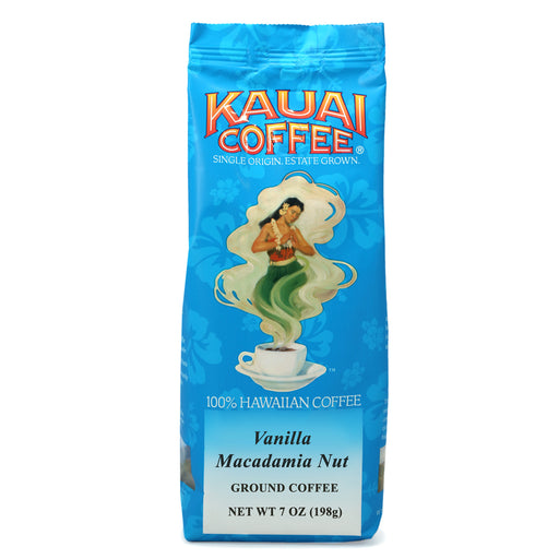 Kauai Coffee Vanilla Macadamia Nut Ground - 7 oz