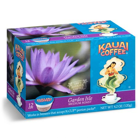 Kauai Coffee Garden Isle Medium Roast K-Cup