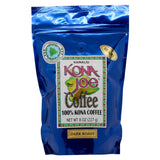 Kona Joe Coffee Dark Roast Whole Bean 8 oz