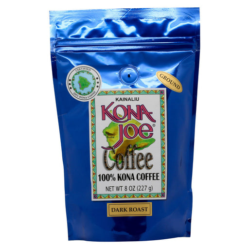 Kona Joe Coffee Dark Roast Ground 8 oz