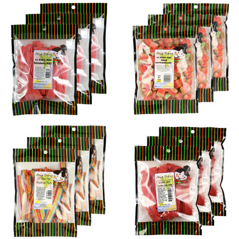 Li Hing Mui Gummy - Combo Bundle - 12 Pack