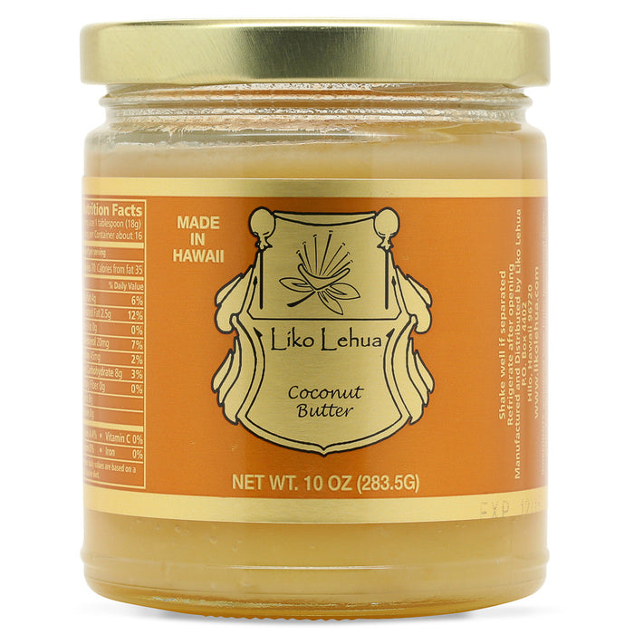 Liko-lehua-coconut-butter-10-oz-jar-front