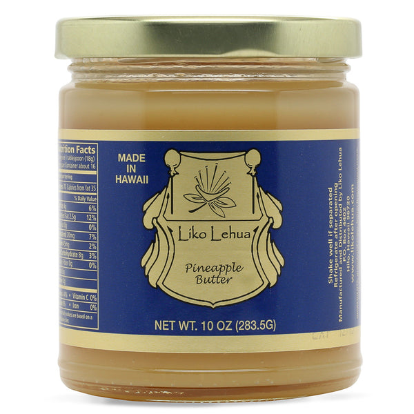 Liko-lehua-pineapple-butter-10-oz-jar-front