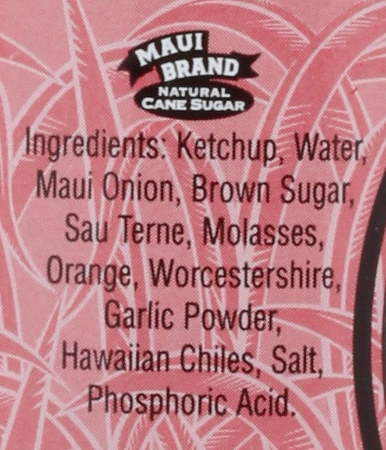 Maui Upcountry Maui Onion BBQ Sauce - 14 oz