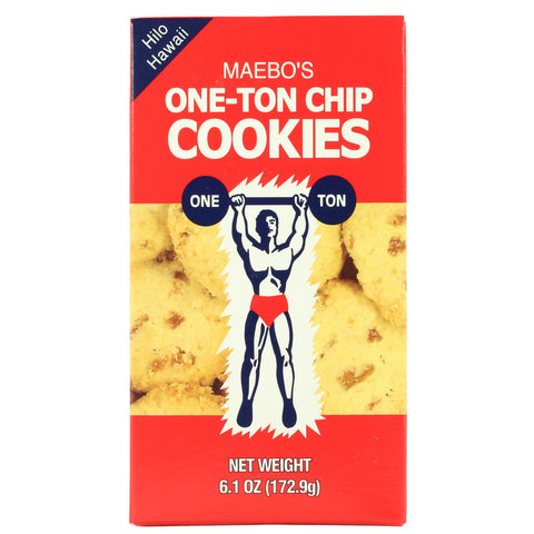 Maebo's One-Ton Chip Cookies - 6 oz