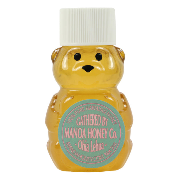 Manoa-Honey-Co-ohia-lehua-honey-2-oz-bear