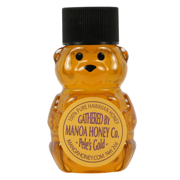 Manoa-Honey-Co-peles-gold-2-oz-bear-front