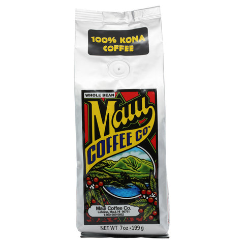 Maui Coffee Company 100% Kona Whole Bean 7 oz