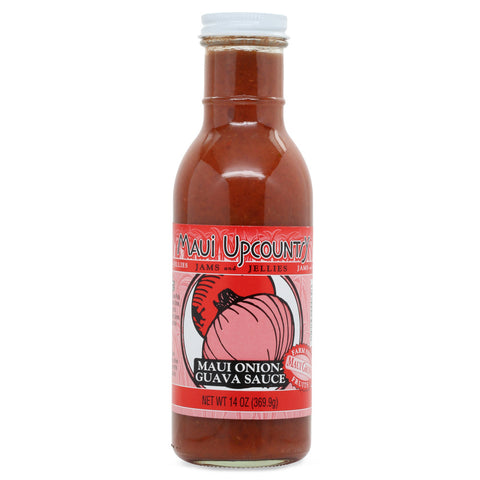 Maui Upcountry Maui Onion Guava Sauce - 14 oz
