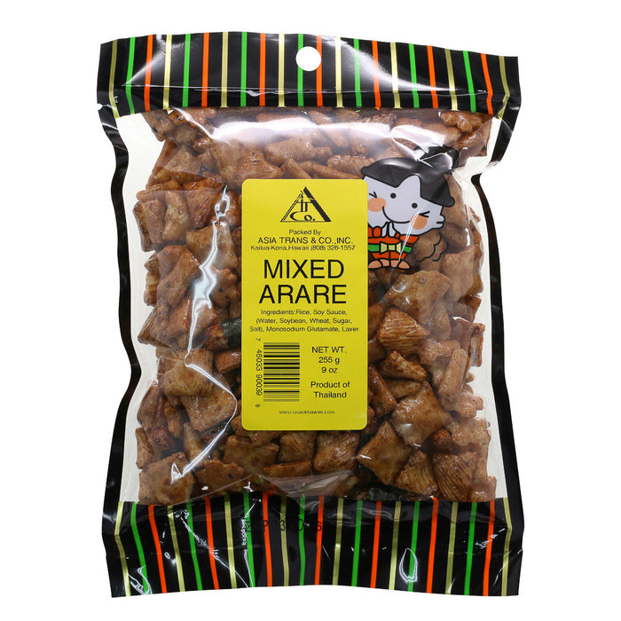 Mixed Arare Rice Crackers 9 oz