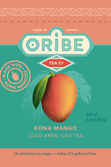 Oribe Cold Brew Kona Mango Tea