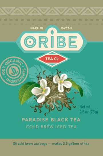 Oribe Organic Cold Brew Paradise Black Tea