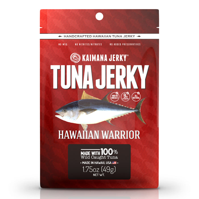 Hawaiian Warrior Ahi Tuna Jerky