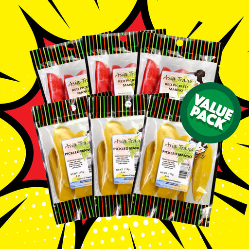 Red and Yellow Pickled Mango Combo Pack