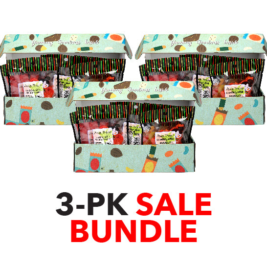 Li Hing Mui Yummy Gummy Candy Gift Box 3-pack SALE Bundle
