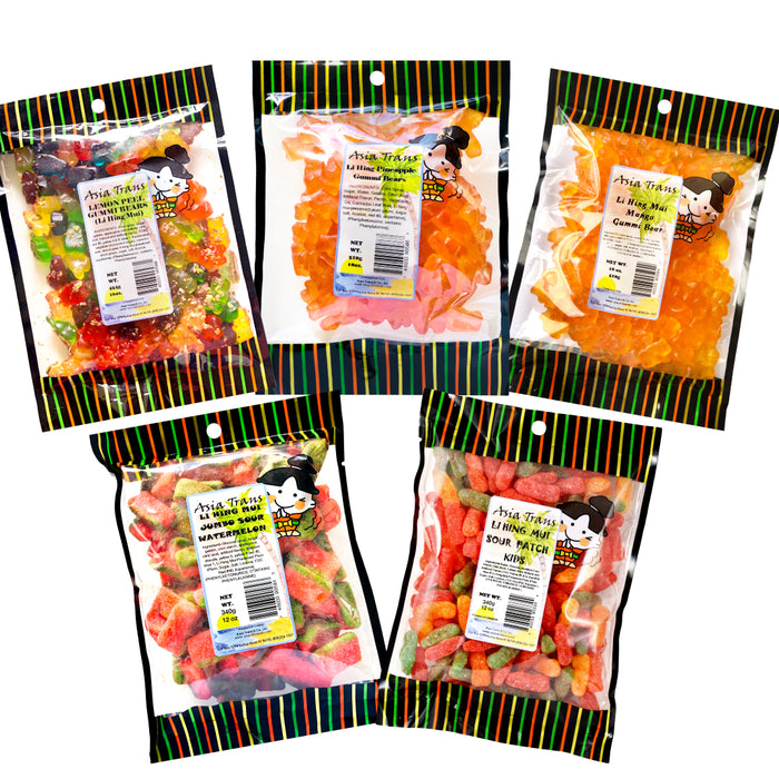 [NEW ITEM #2] Bursting With Flavor Bundle - Li Hing Mui Gummy Candy
