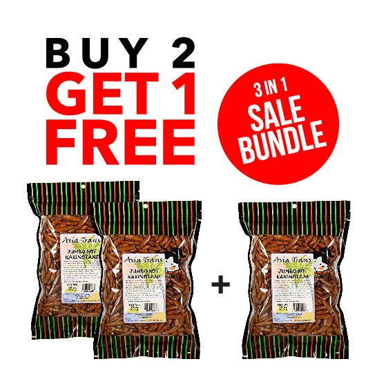 BUY 2 GET 1 FREE - Jumbo Hot Kakinotane 1 LB Bag