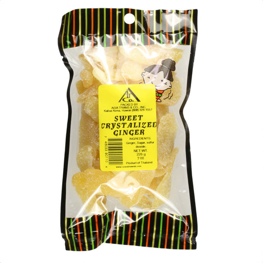 Sweet Crystallized Ginger - 7 oz