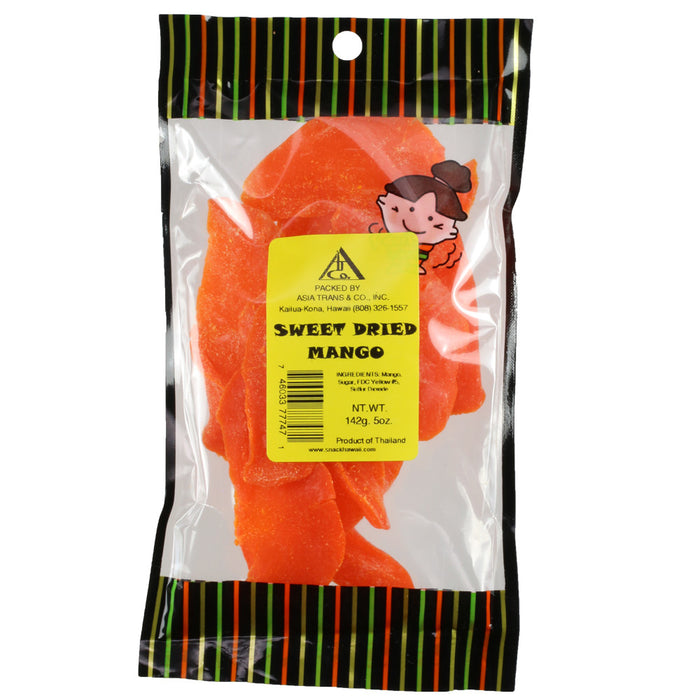 Sweet Dried Mango - 5 oz or 12 oz