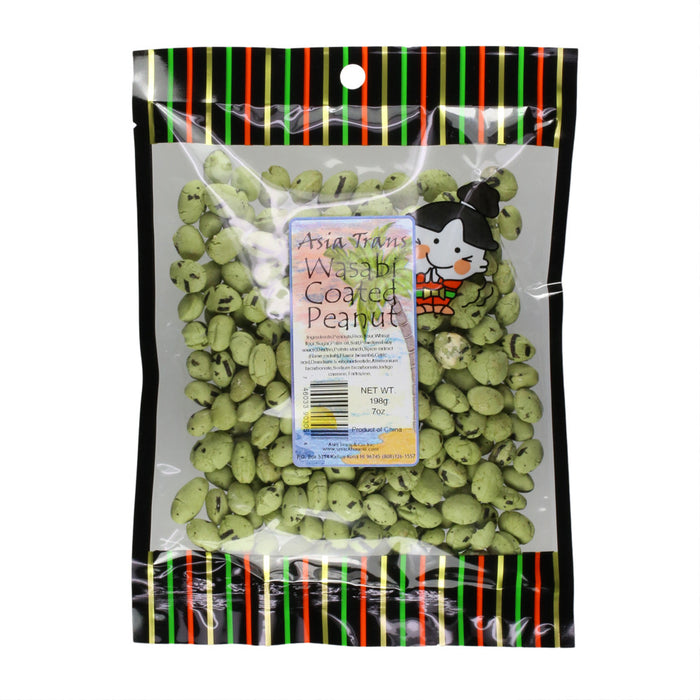 Wasabi Coated Peanut bag front