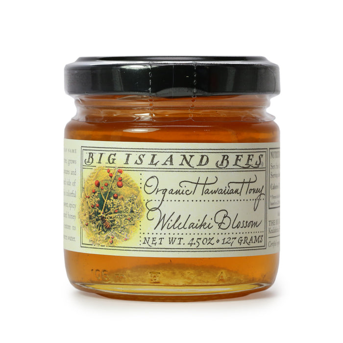 Big Island Bees Organic Wilelaiki Honey 4.5 oz