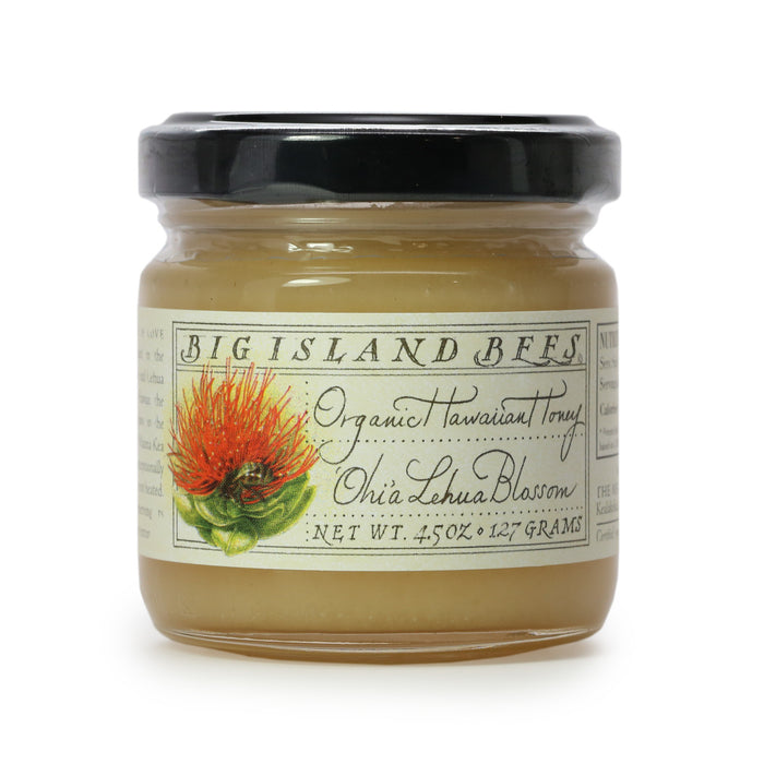 Big Island Bees Organic Ohia Lehua Blossom Honey 4.5 oz