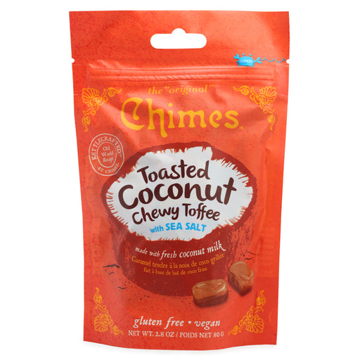 Chimes Toasted Coconut Chewy Toffee with Sea Salt