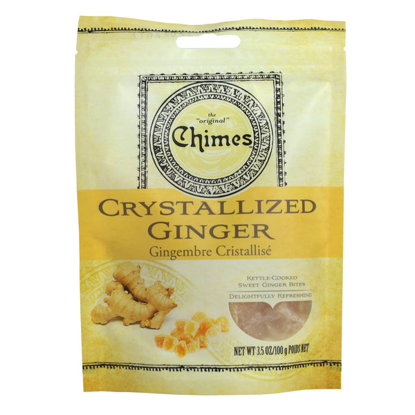 Chimes Crystallized Ginger - 3.5 oz or 16 oz