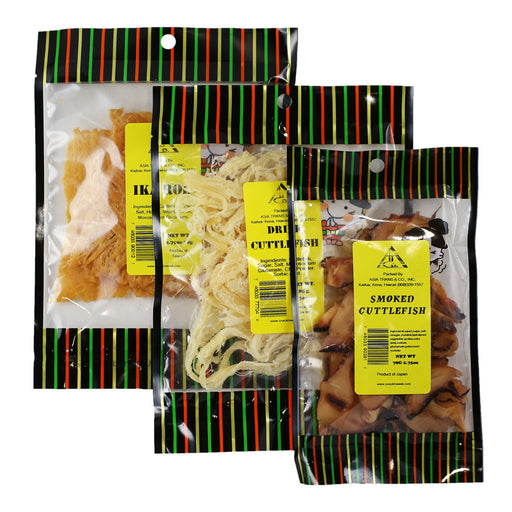 Dried Seafood Bundle (Pack of 3) in bag
