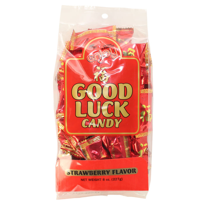 Enjoy-good-luck-strawberry-flavor-candy-bag-front