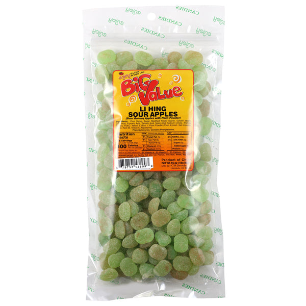 Enjoy Li Hing Sour Apples - 4 oz or 16 oz